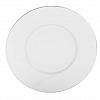 Prato Sobremesa Double Filet Platine Porcelana Limoges  23cm 6 Peças