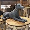 Escultura Cão de Guarda em Resina 53 cm