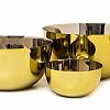 Bowl Yasmin Dourado 30 cm Inox