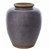 Vaso Boreal Índigo em Cerâmica  36,5x33,5cm