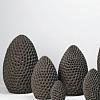 Escultura Ovo Coral 41cm Paulo Neves