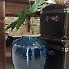 Vaso Bojudo Boreal Royal em Cerâmica 33x33x50cm