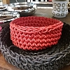 Rock´n Bowl Vermelho 22x22x13cm - Renata Moura