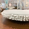 Centro de Mesa Ouriço branco porcelana