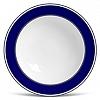 Prato Fundo  Flat Navy Porcelana 22cm