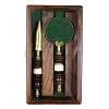 Gift Box Madeira e Bronze Caixa em Madeira 16,5 x 9 x 3 cm de altura